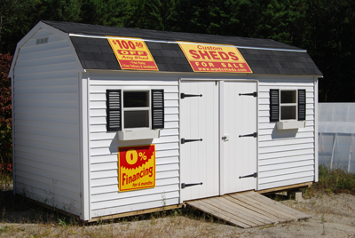 At jo ann 39 s gardens we are now proud to offer affordable for Affordable storage sheds
